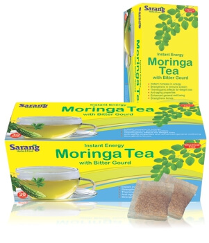 Moringa Tea bags with Bitter Grout