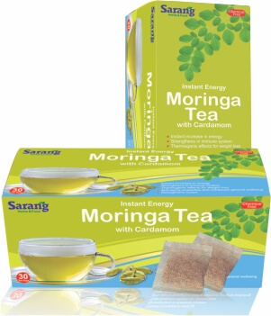 Moringa Tea bags with Cardamom