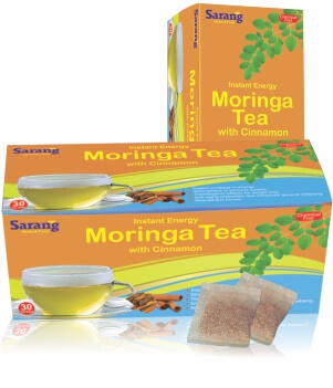 Moringa Tea bags with Cinnamon