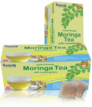 Moringa Tea bags with Lemongrass