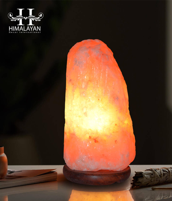 100% Pure Himalayan Natural Salt Lamp Hand Carved NSL-11, Small